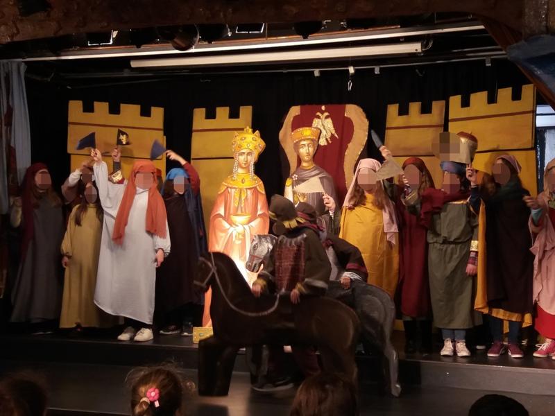 Οι μαθητές της Ε΄ τάξης ταξιδεύουν στα βυζαντινά χρόνια