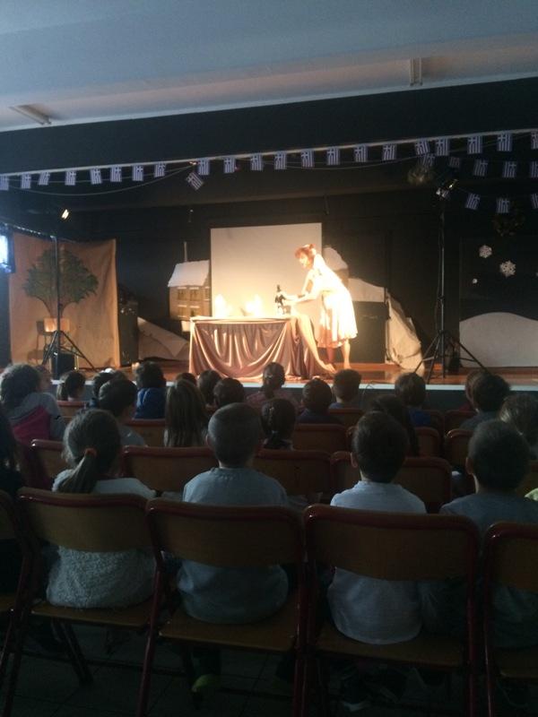 Εικαστικό θέατρο και κατασκευή χάρτινης κούκλας