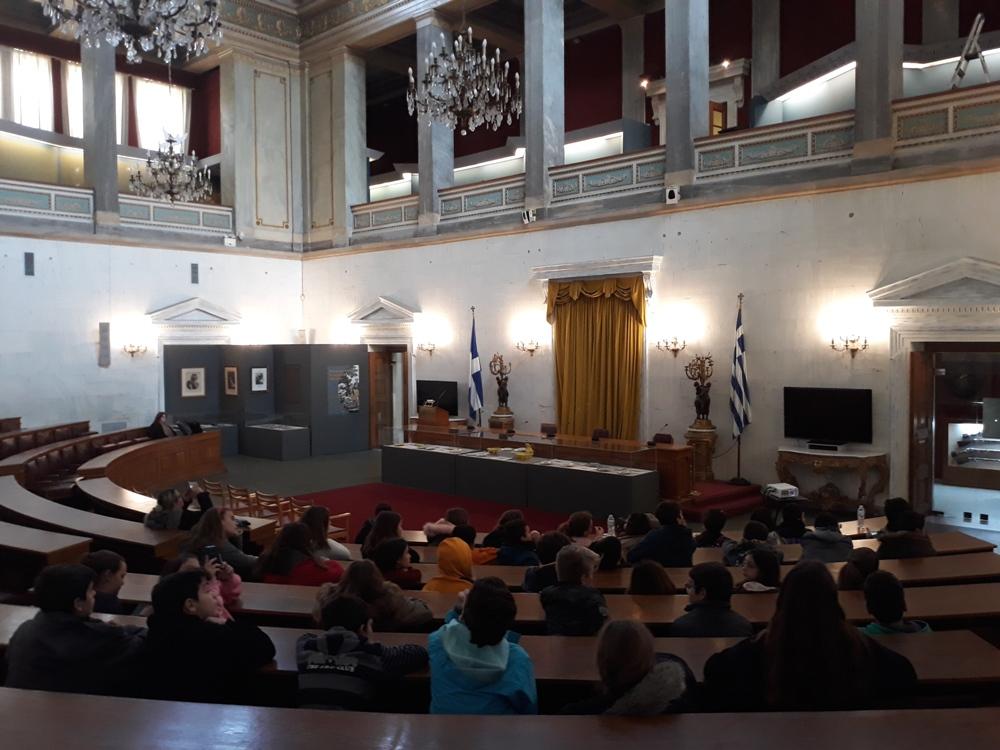 Η ΣΤ' Τάξη γνωρίζει την ελληνική ιστορία μέσα από τα μουσεία