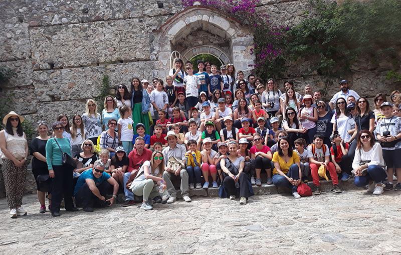 Εκπαιδευτική επίσκεψη της Ε΄ Τάξης στον Μυστρά και στο Μουσείο Ελιάς Σπάρτης